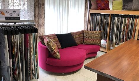 modern bútorszövet